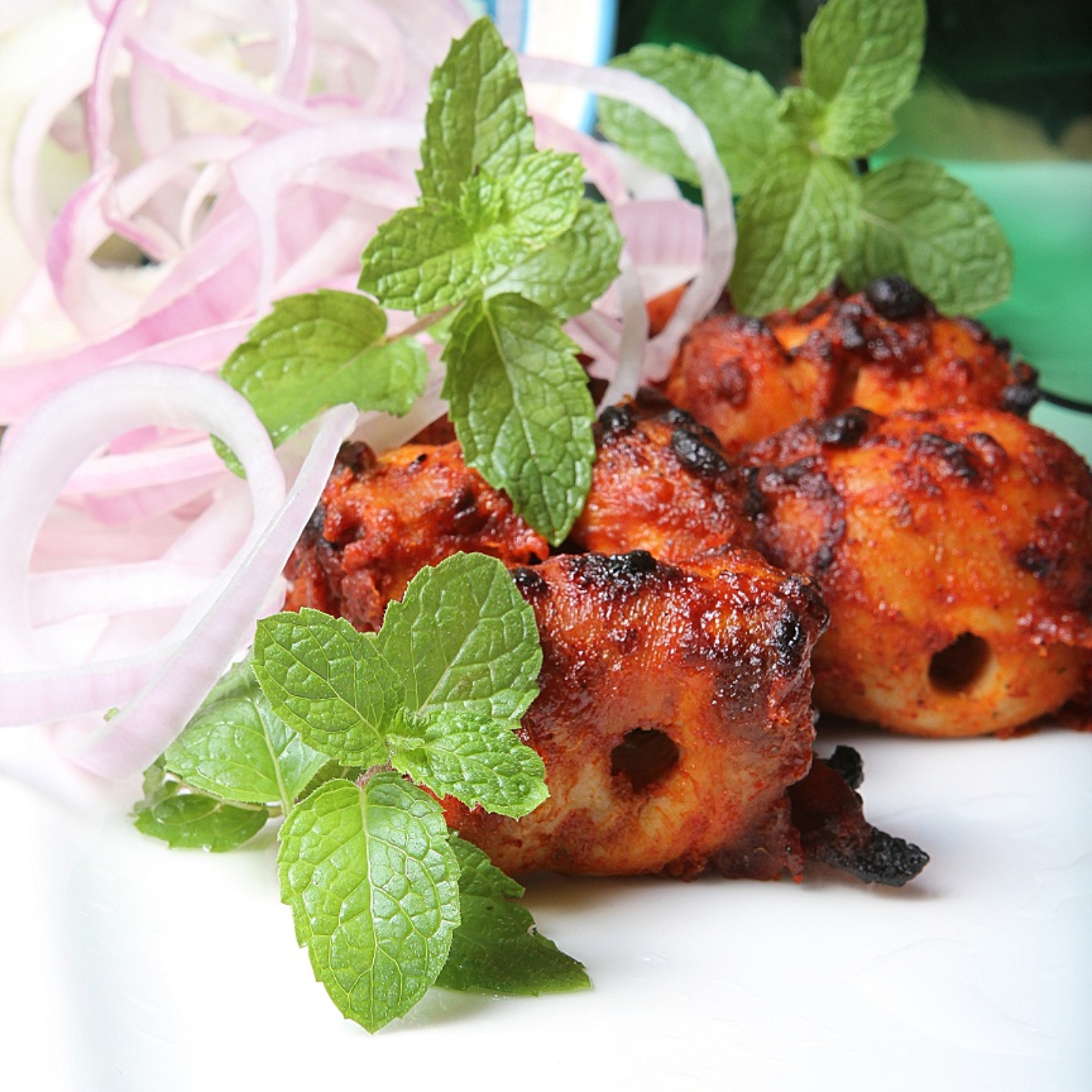 Chicken Tikka Kebab 3pcs