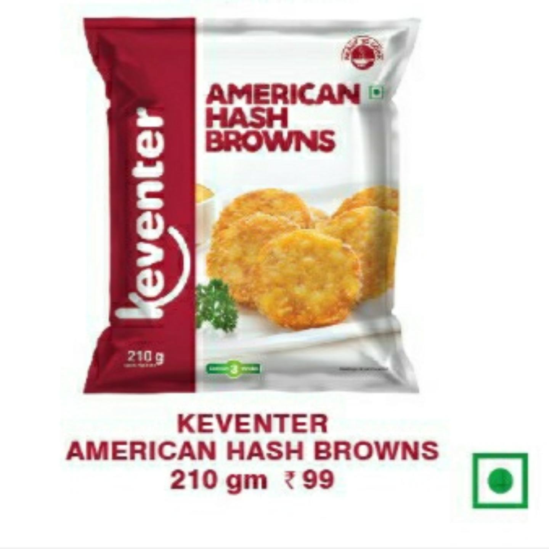 American Hash Brownies 210gms