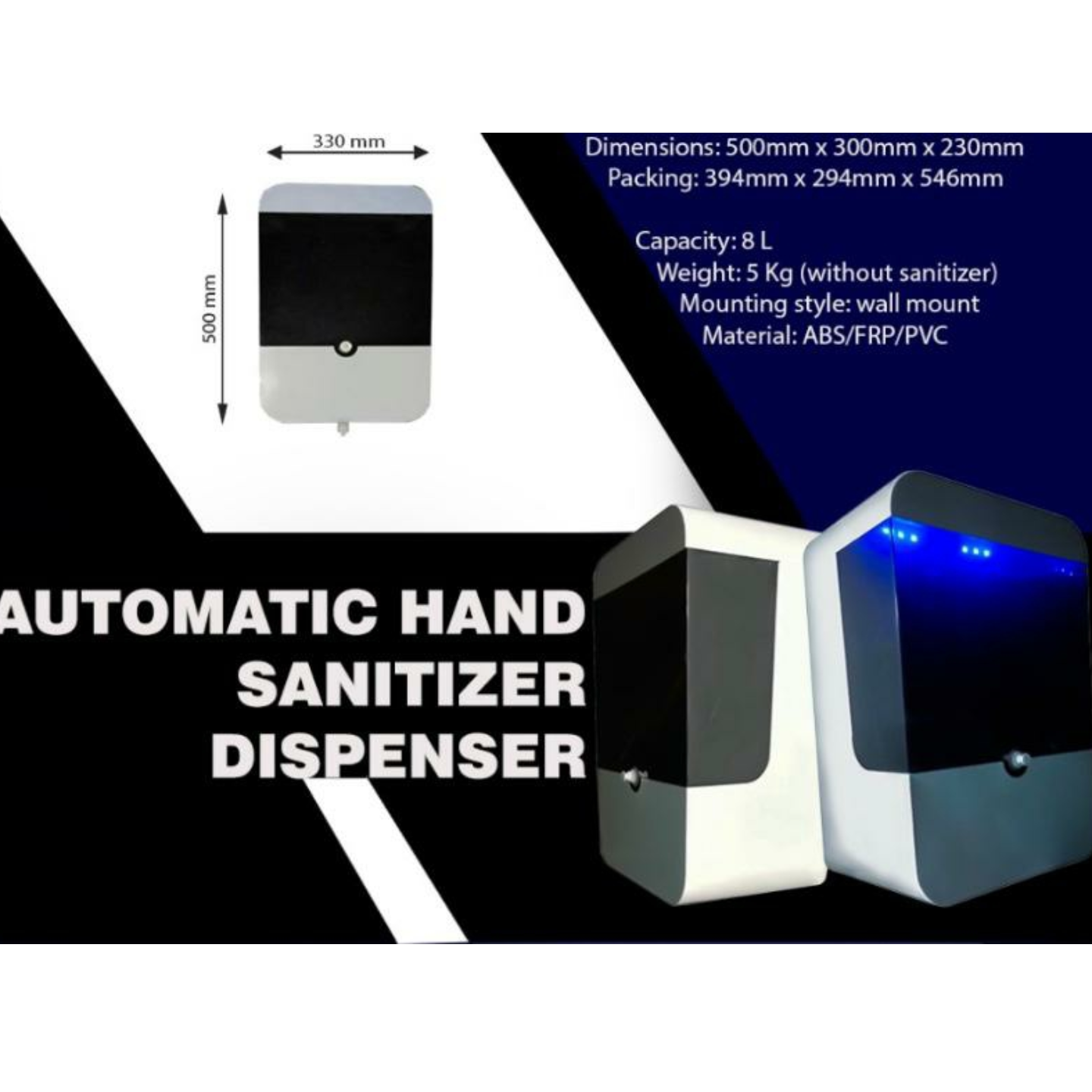 Automatic Hand Sanitizer Machine