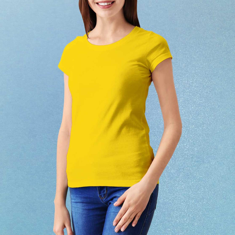 فرض مدى واسع كذلك T Shirt Yellow Plain Costaricarealestateproperty Com