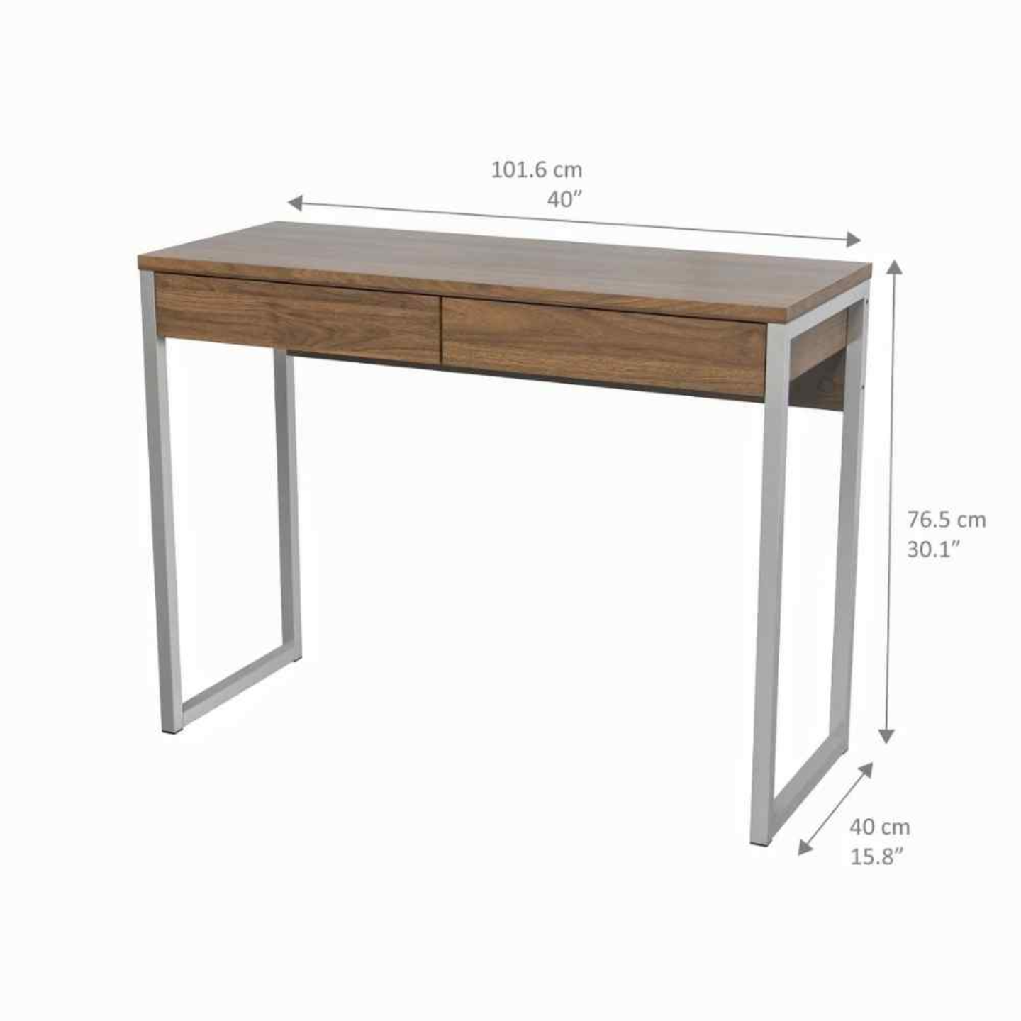 Home Office Table with Drawers VOLGA