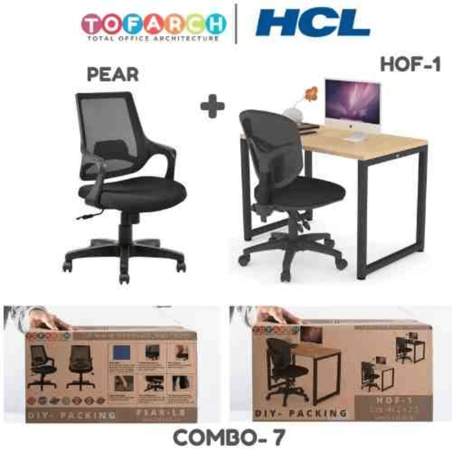 Work from Home Combo 7 PEAR + HOF-1