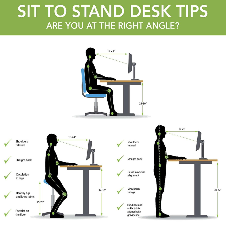 SIT STAND DESK (HEALTHIN -4)