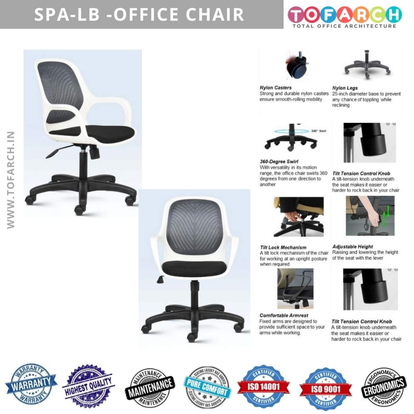 Home Office Chair SPA LB