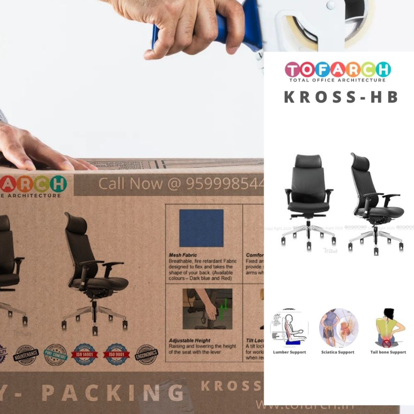 Office Director Chair KROSS - HB
