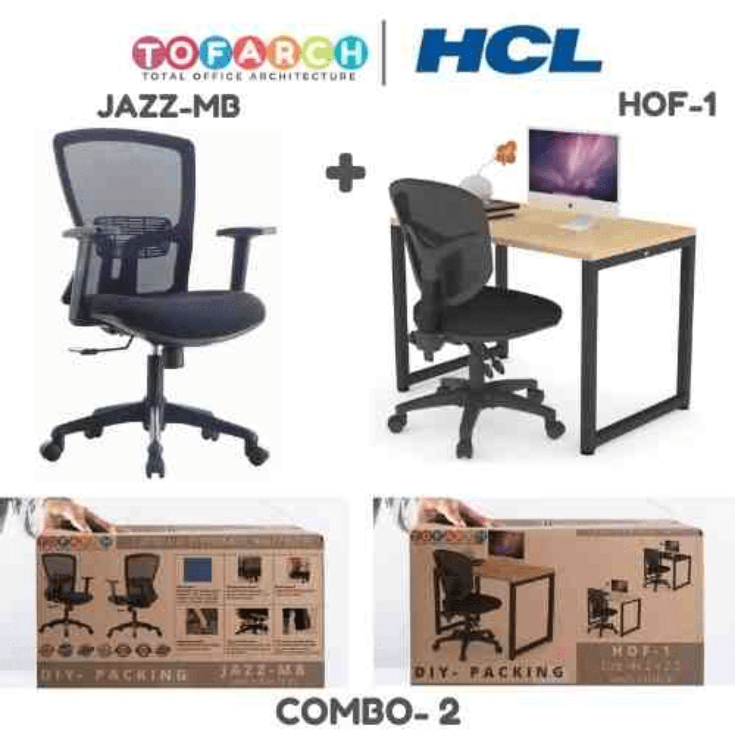 Work from Home Combo 2 JAZZ MB + HOF01