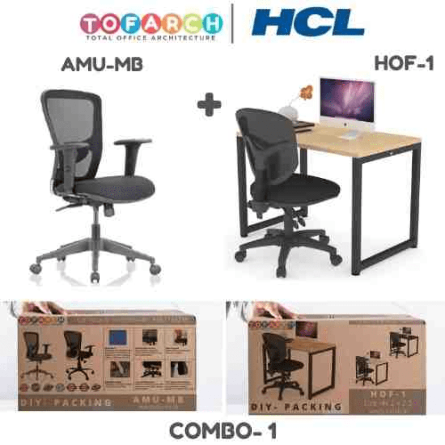 Work from Home Combo 1  AMU MB + HOF-1