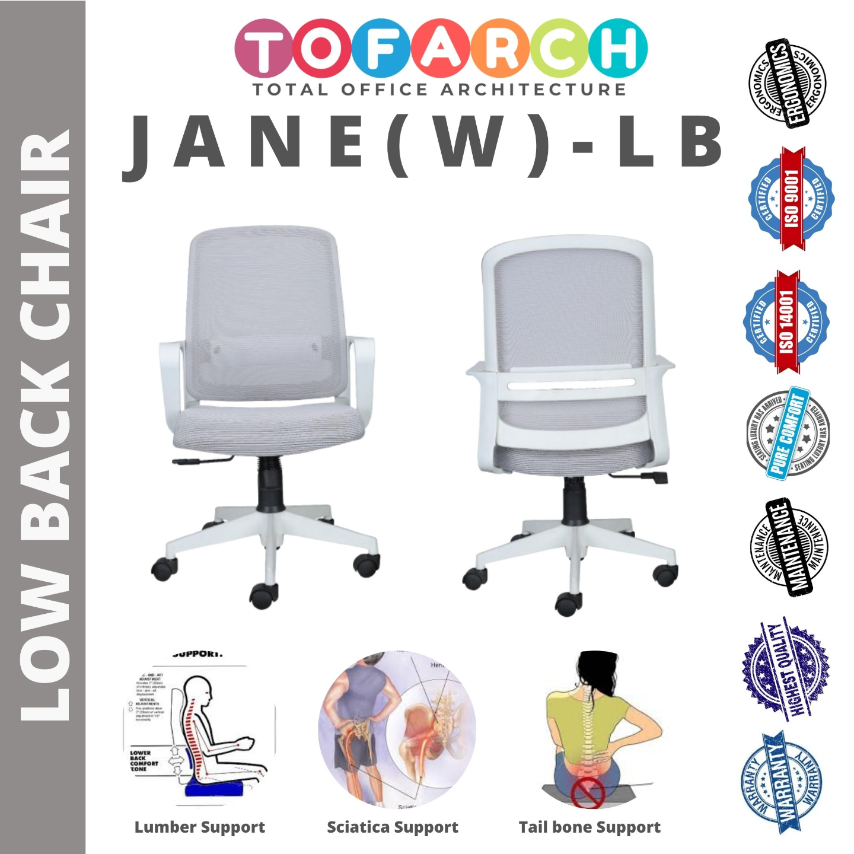 Low Back Office Chair Jane (W) LB