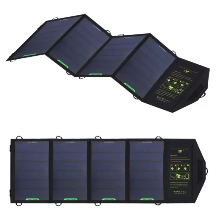 18w foldable solar RV charger