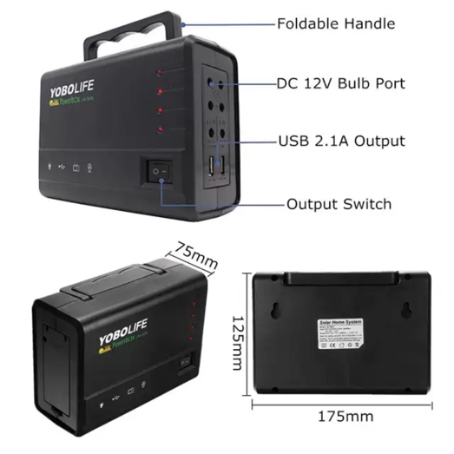 Super Solar Power 110-220V RV Charger Battery
