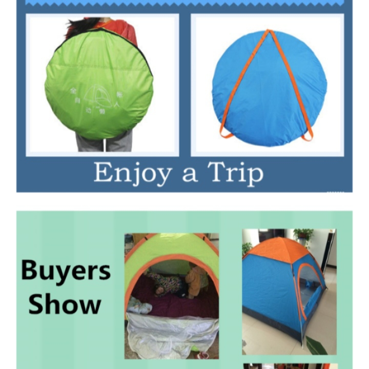 Auto Tent for Casual Camping