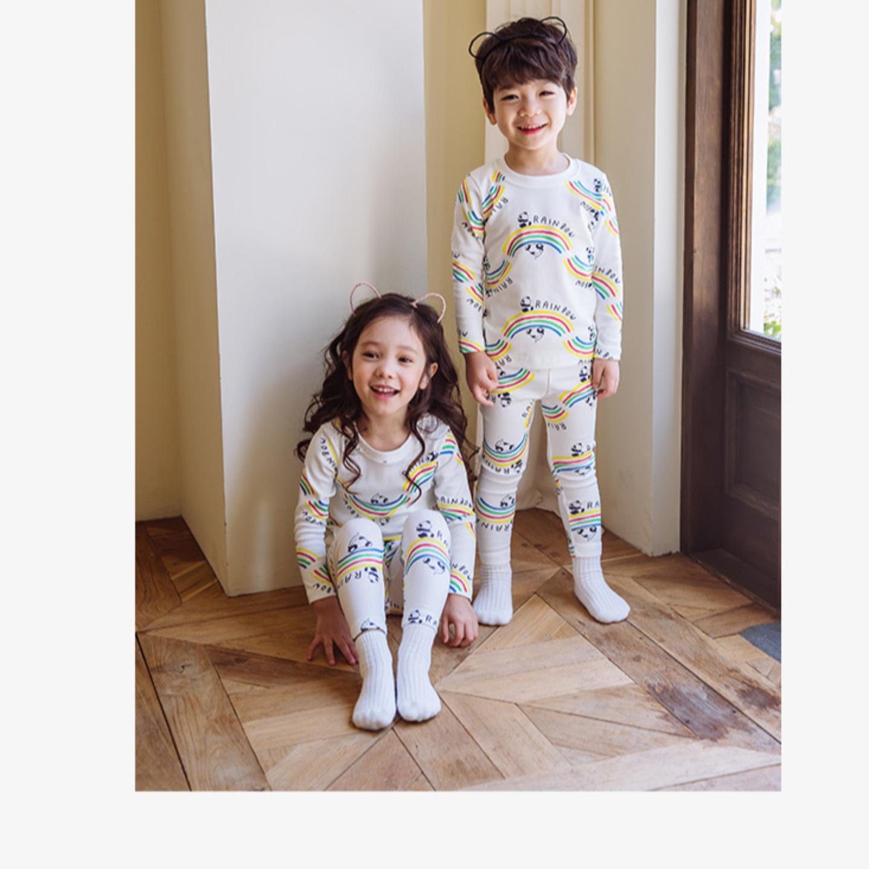 Rainbow Panda Easywear/ Pajamas