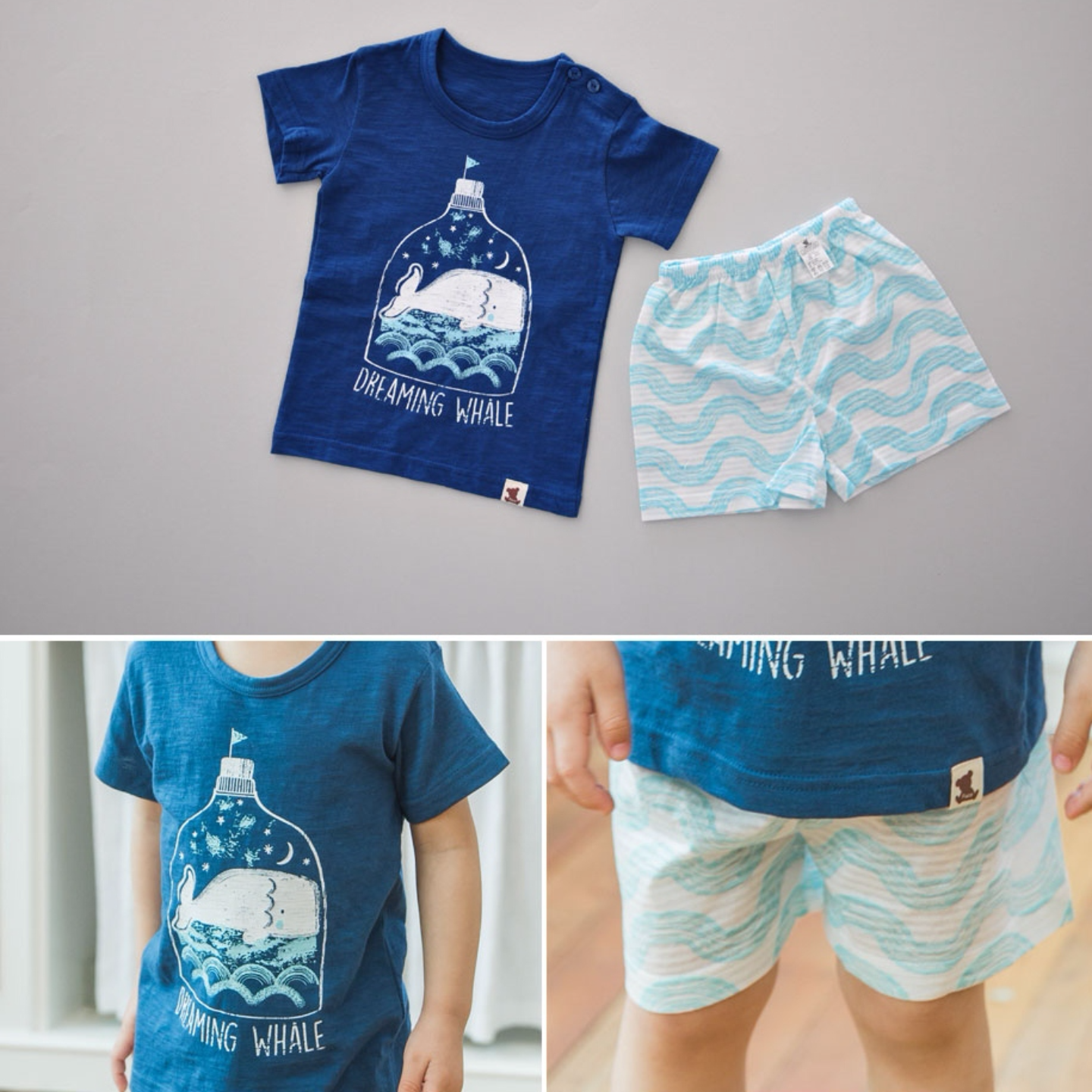 Dreaming Whale Playsuit / Casual Set