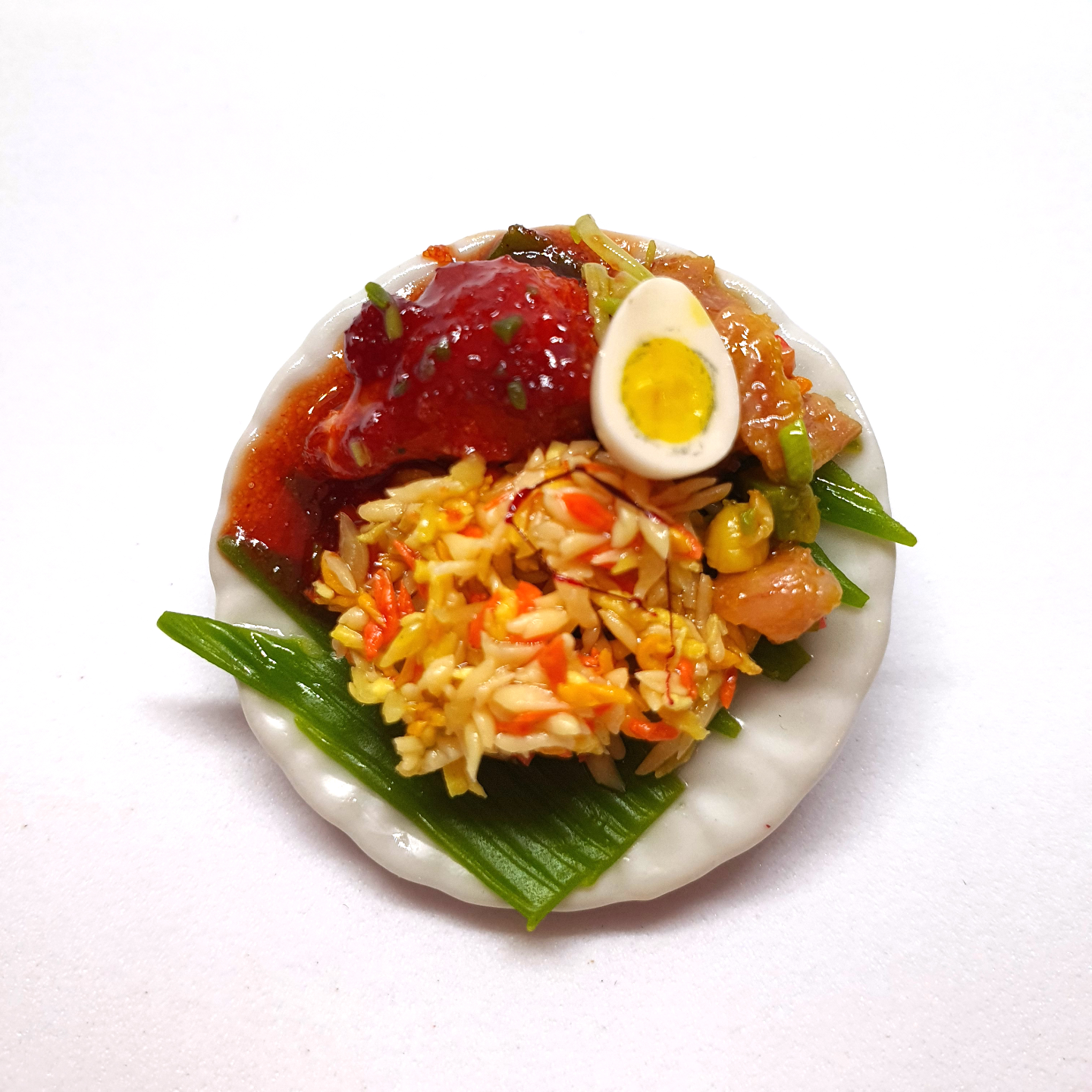 Handmade Miniature: Nasi Padang by Madam Ang Miniature World
