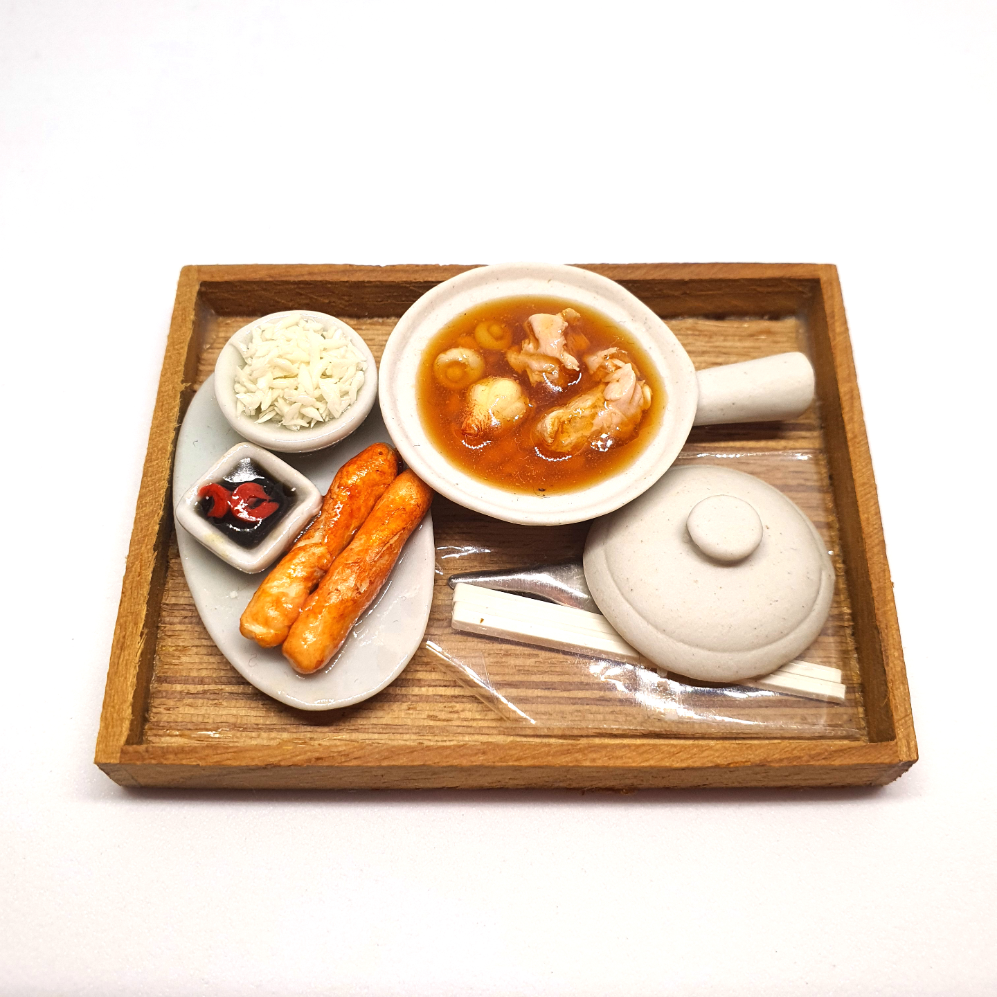 Handmade Miniature: Bak Kut Teh by Madam Ang Miniature World