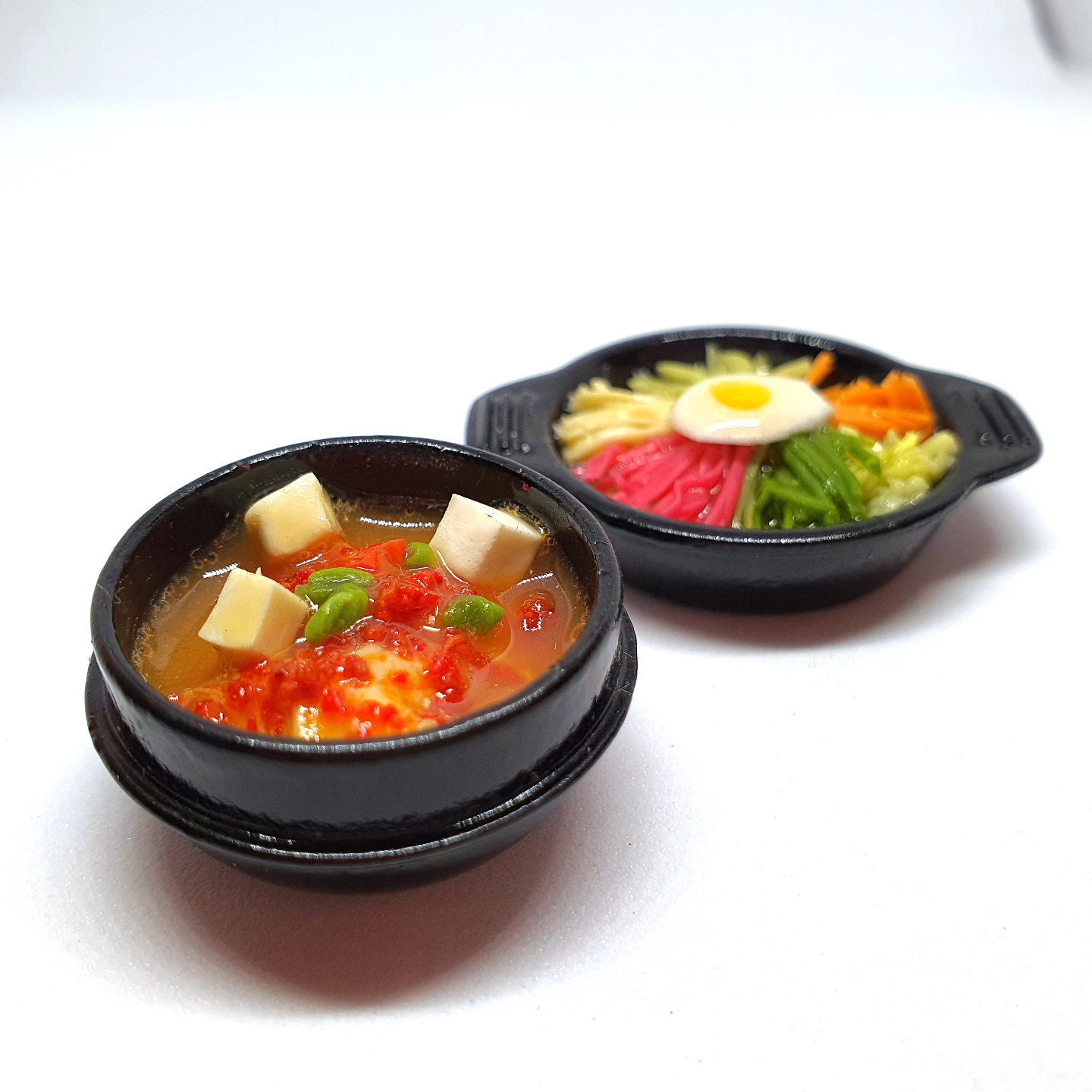 Handmade Miniature: Korean Tofu Stew by Madam Ang Miniature World