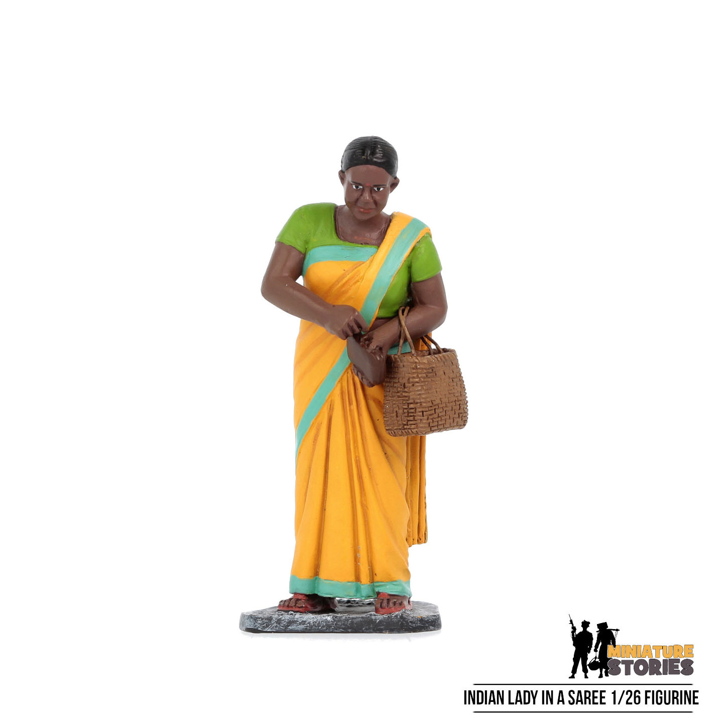 Indian Lady in a Saree Figurine