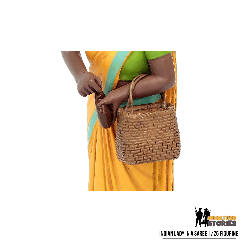 Indian Lady in a Saree Figurine
