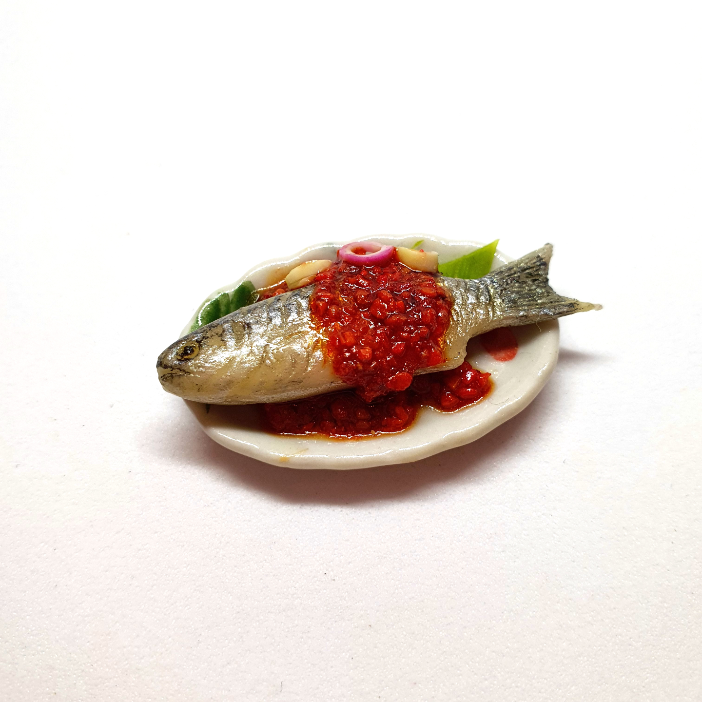 Handmade Miniature: Barramundi by Madam Ang Miniature World