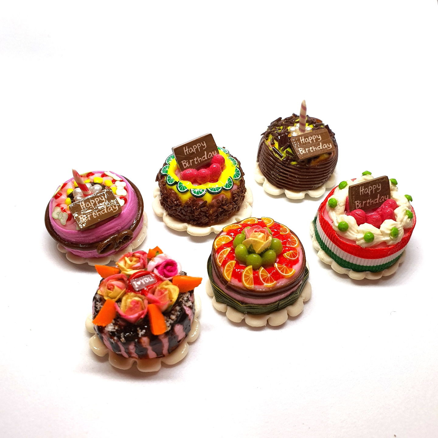 Handmade Miniature: Cake (Assorted Design) by Madam Ang Miniature World