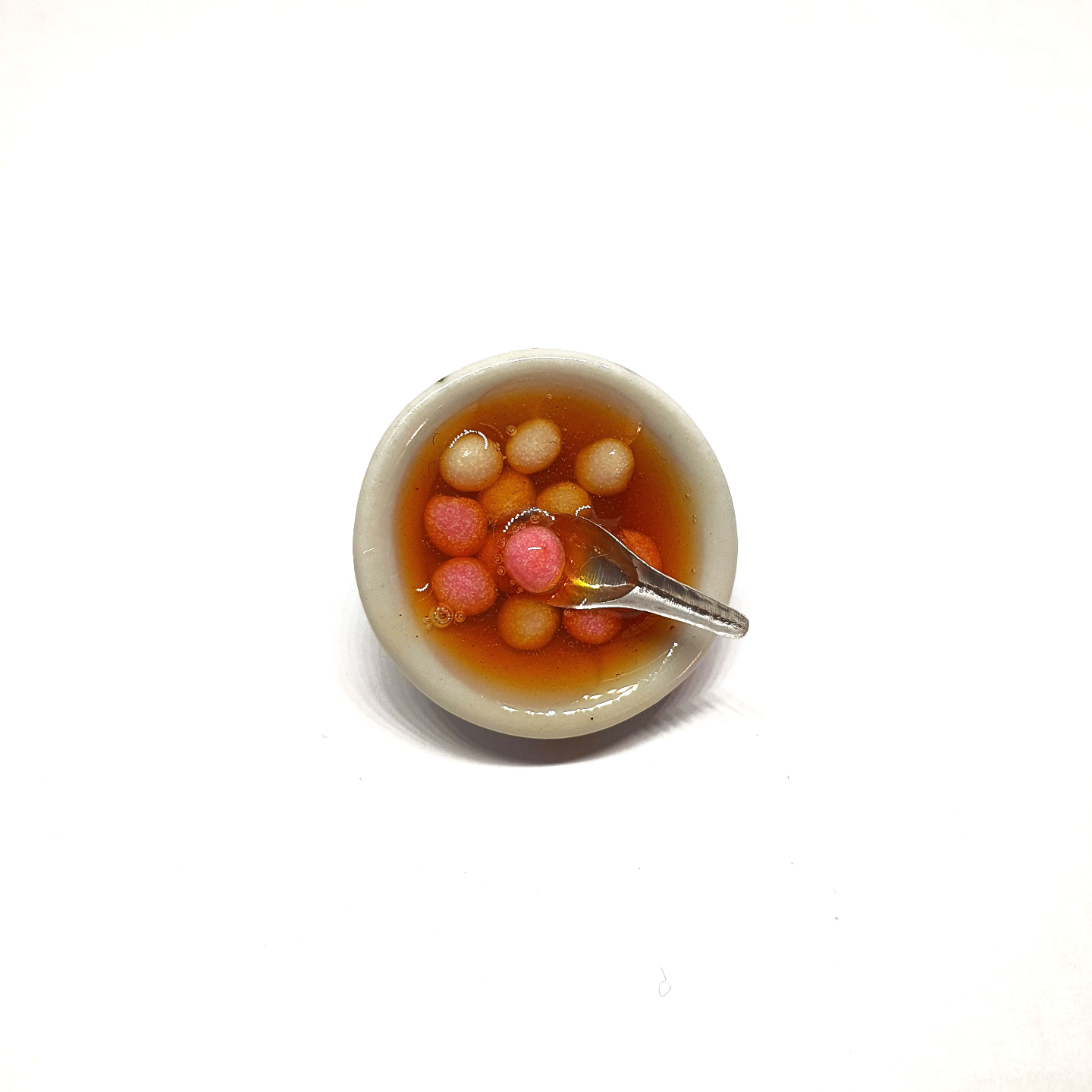 Tang Yuan with Spoon Miniature