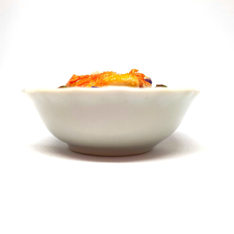 Handmade Miniature: Curry Fish Head by Madam Ang Miniature World