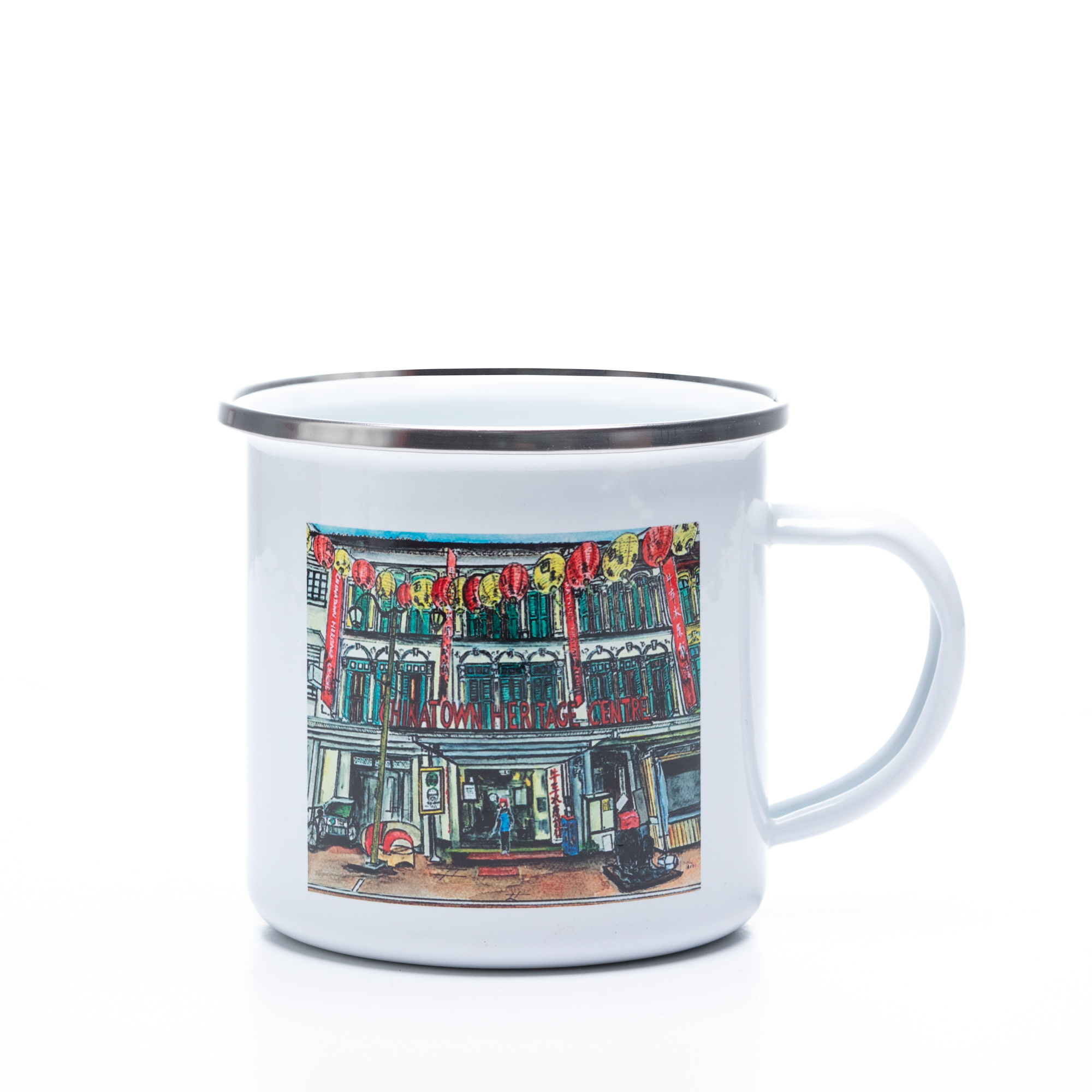Chinatown Heritage Centre Mug by Glacy Soh Arts