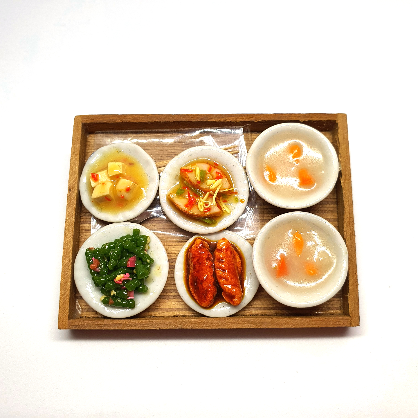 Handmade Miniature: Teochew Porridge by Madam Ang Miniature World