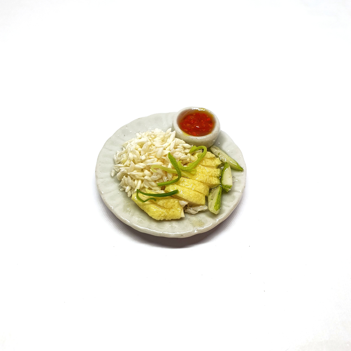 Chicken Rice Miniature