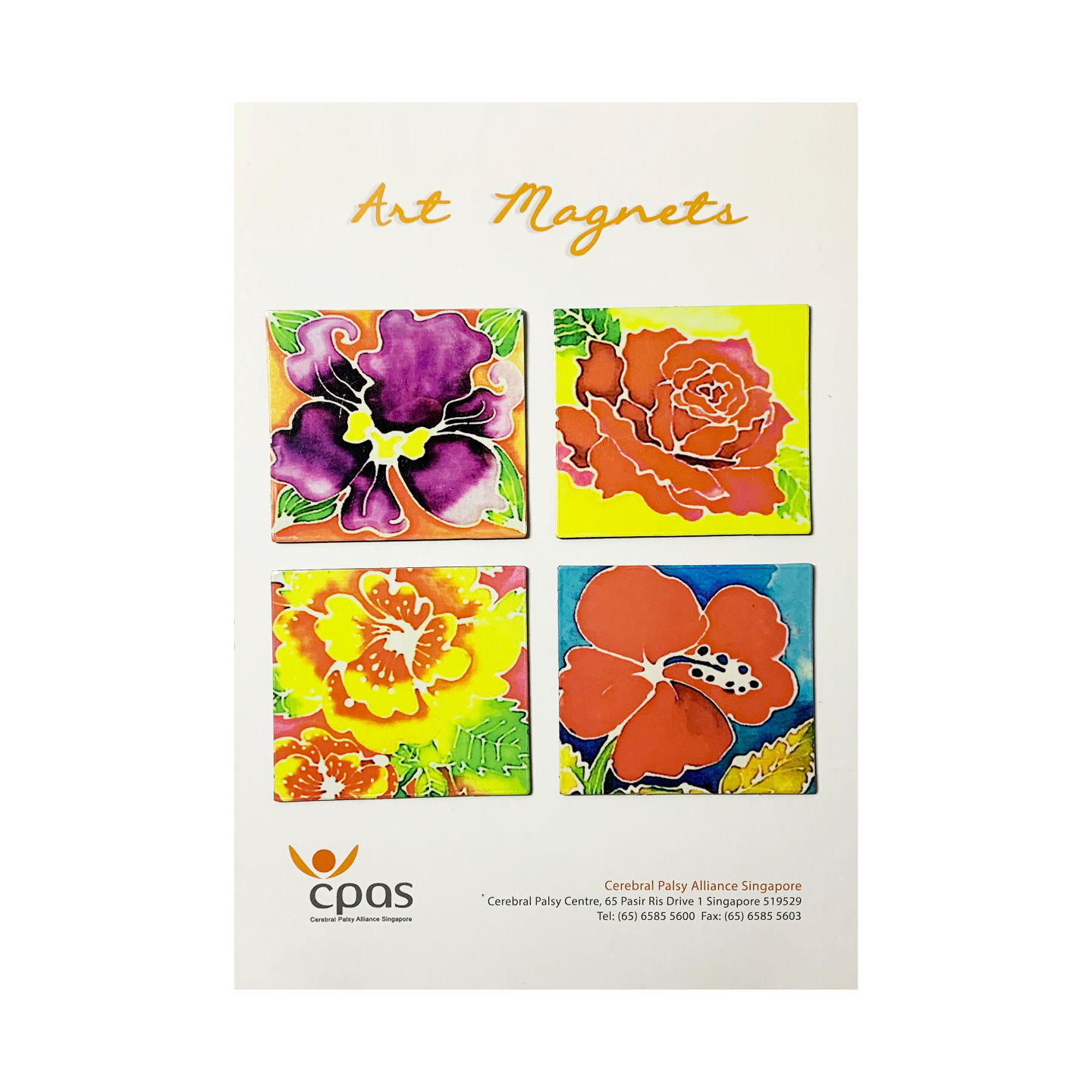 Art Magnet Set 3 by CPAS GROW Artists Set of 4