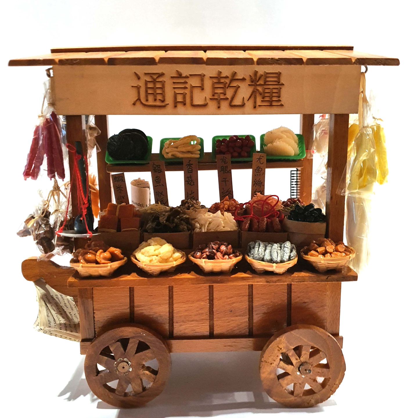 Handmade Miniature: Dried Goods Stall by Madam Ang Miniature World