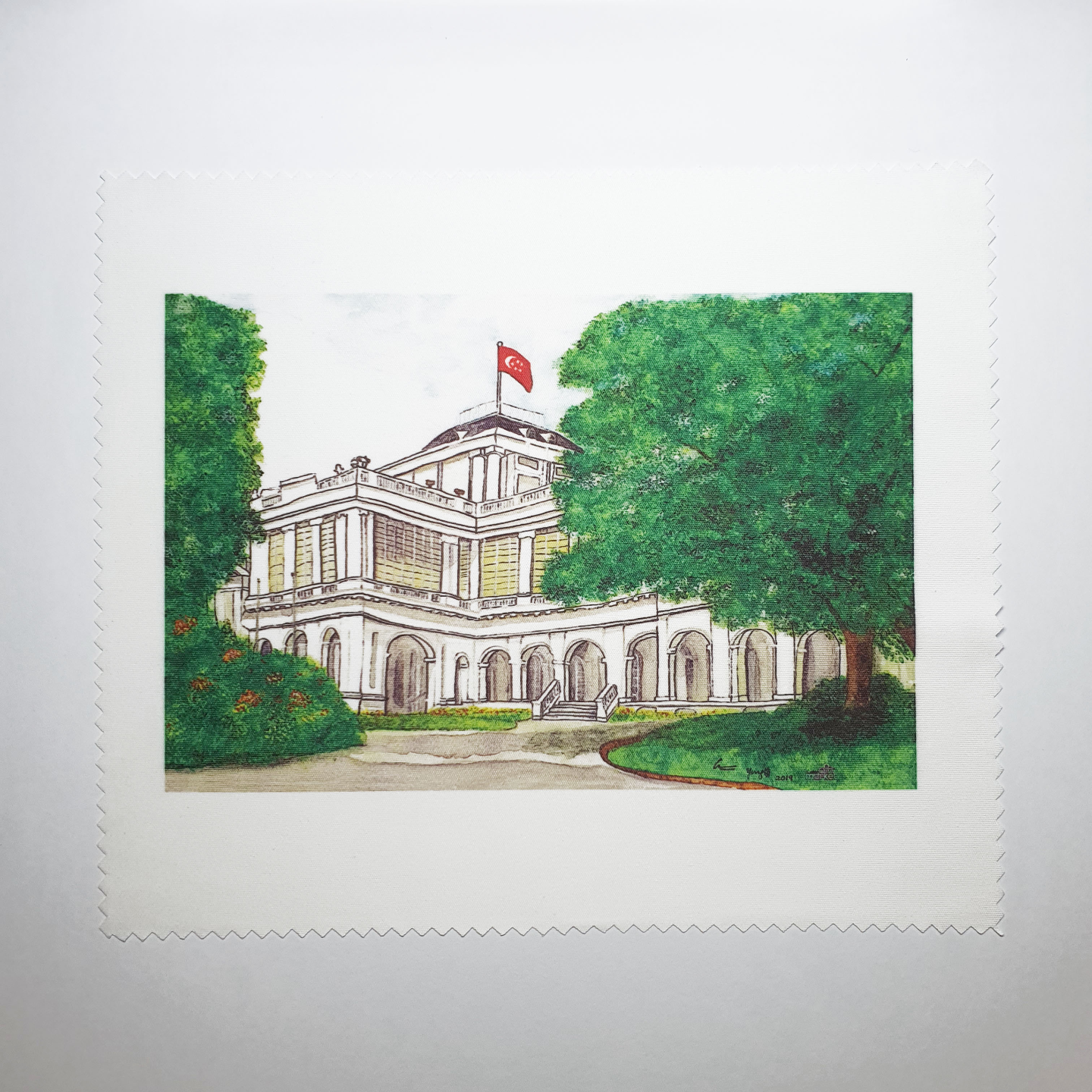 Dust Cloth - The Istana