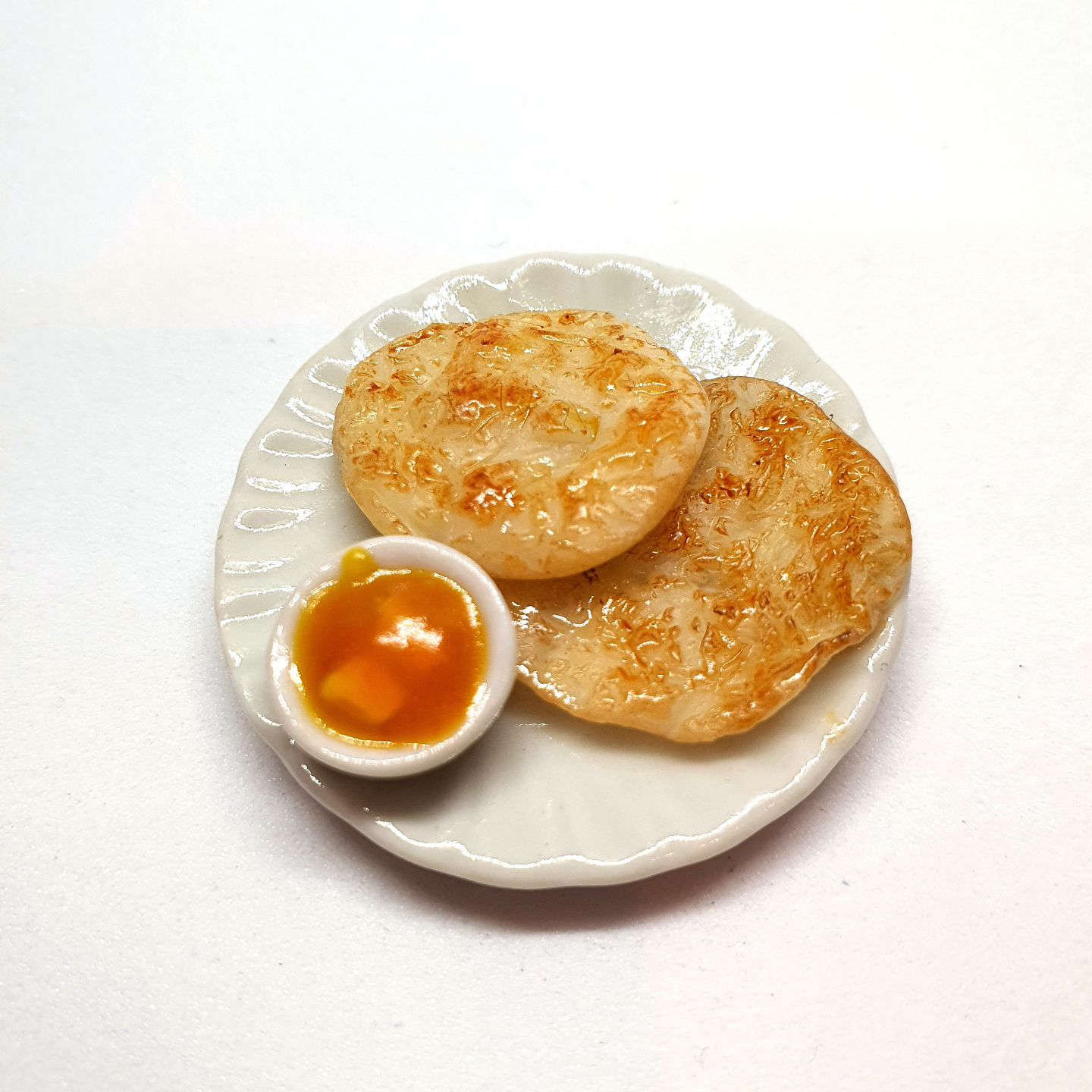 Handmade Miniature: Roti Prata by Madam Ang Miniature World