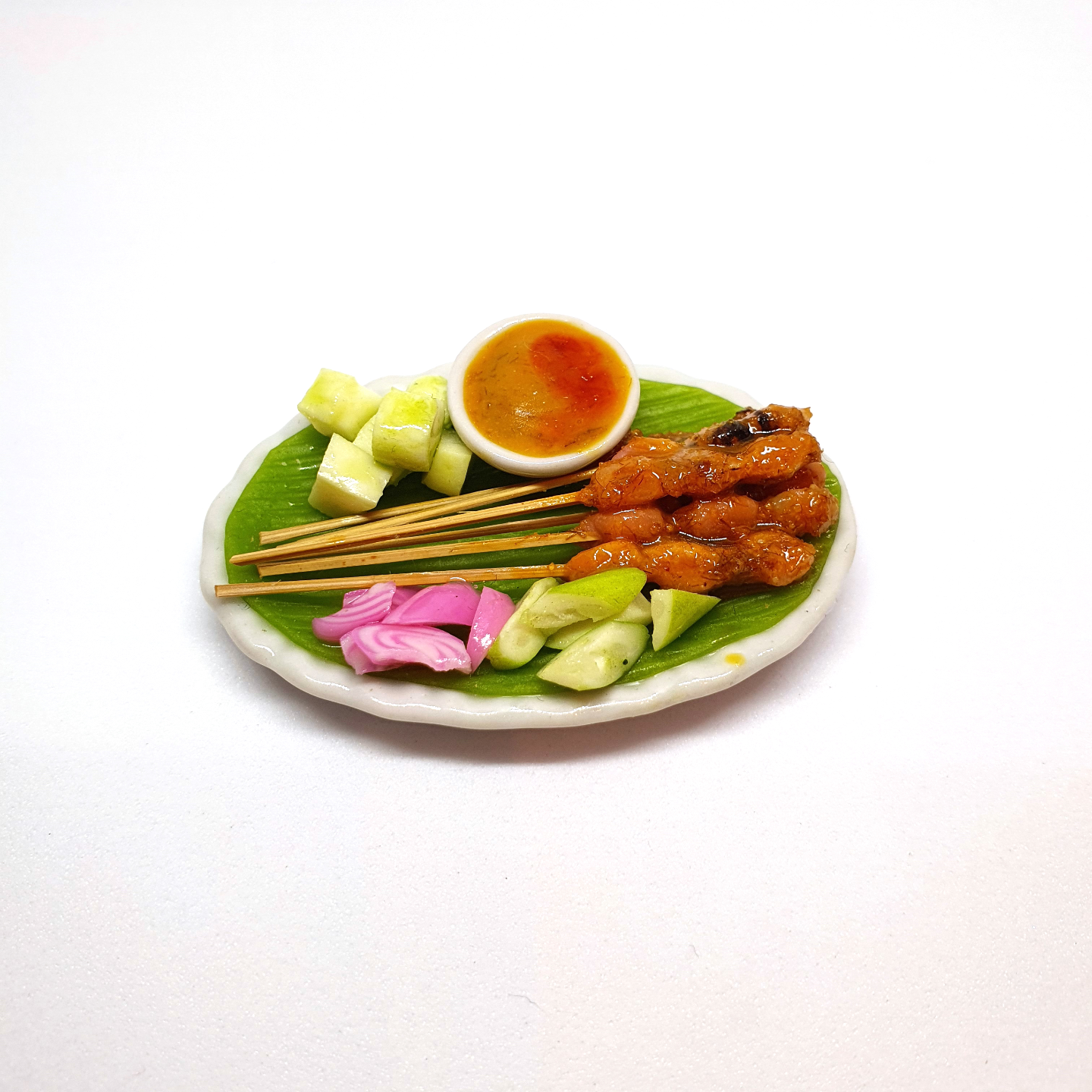Handmade Miniature Satay by Madam Ang Miniature World