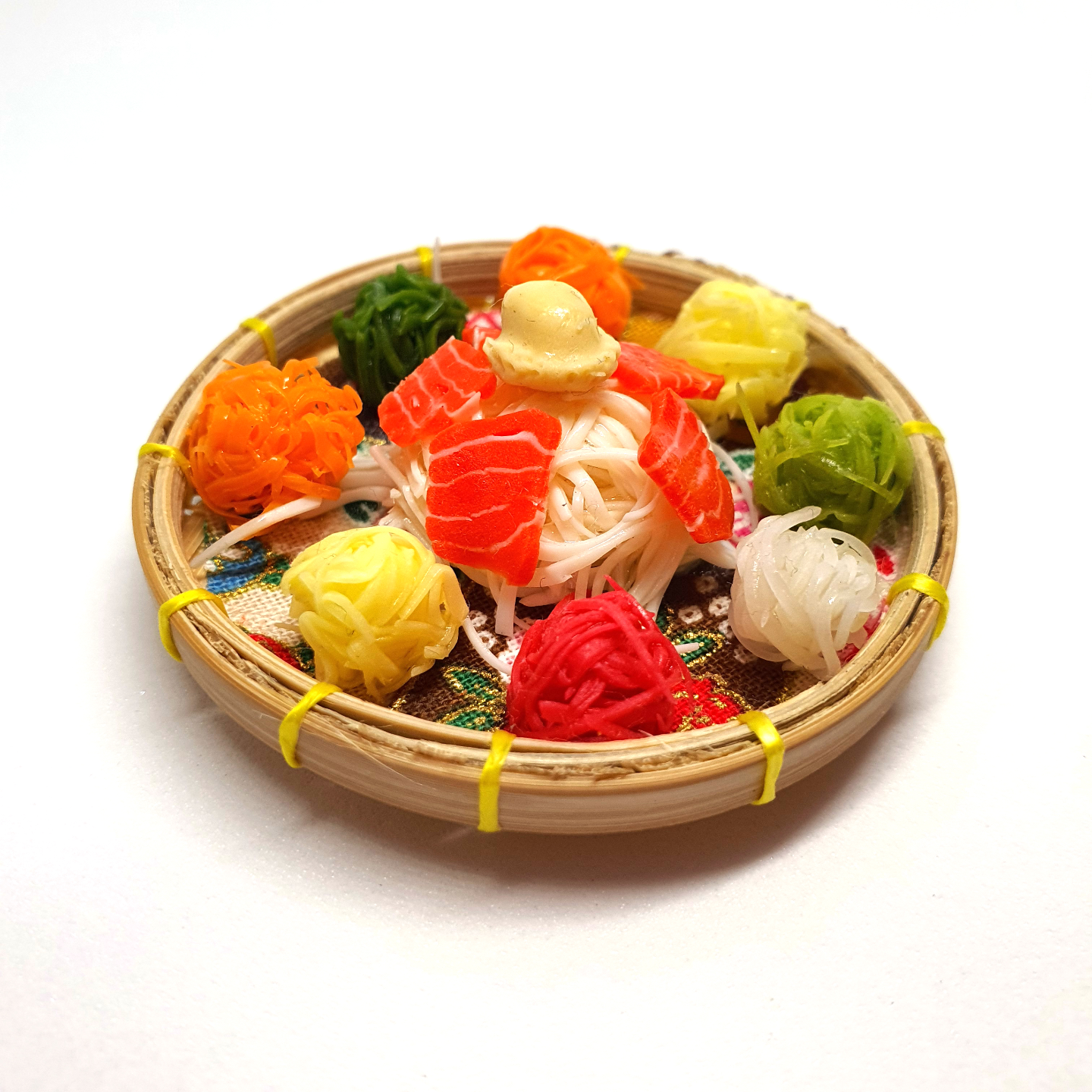 Handmade Miniature: Yu Sheng by Madam Ang Miniature World