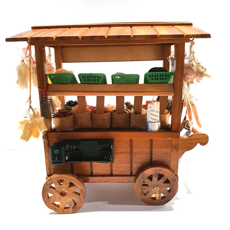Handmade Miniature: Dried Goods Stall by Madam Ang Miniature World