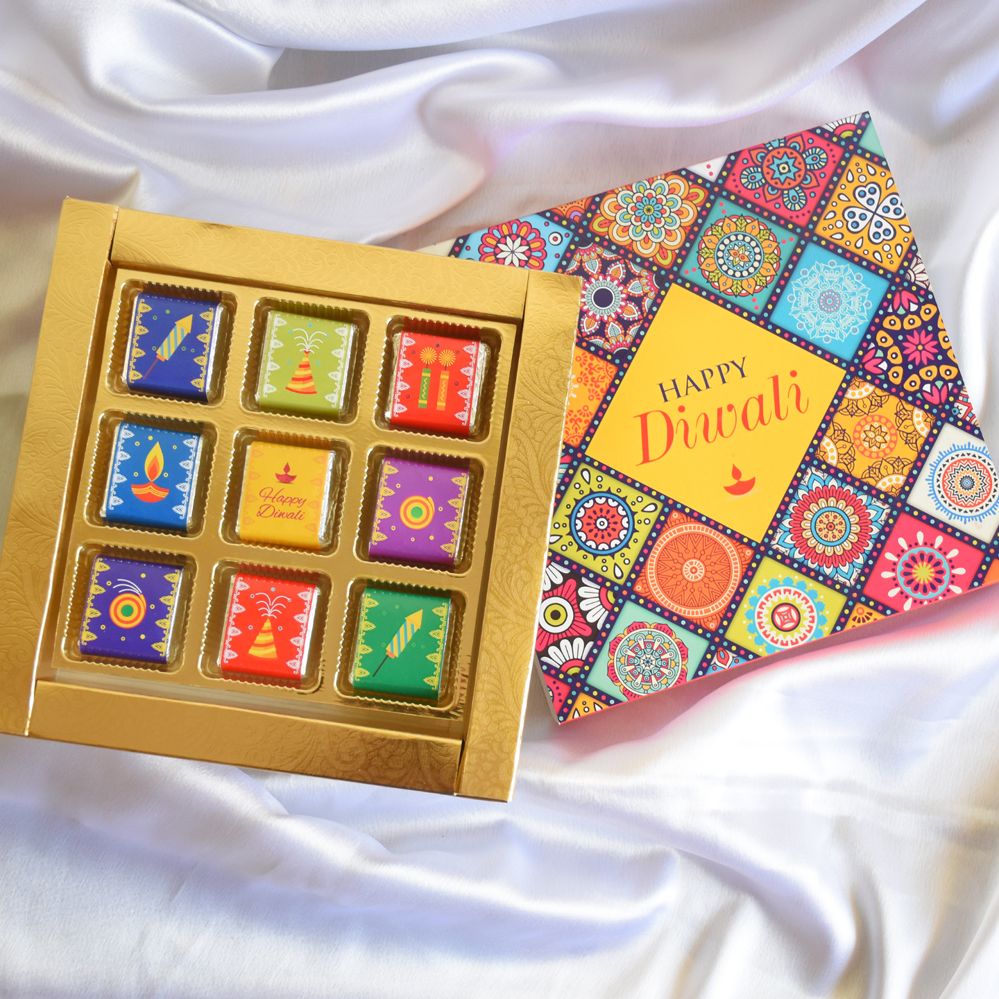 Diwali Gift Box, Assorted Chocolates