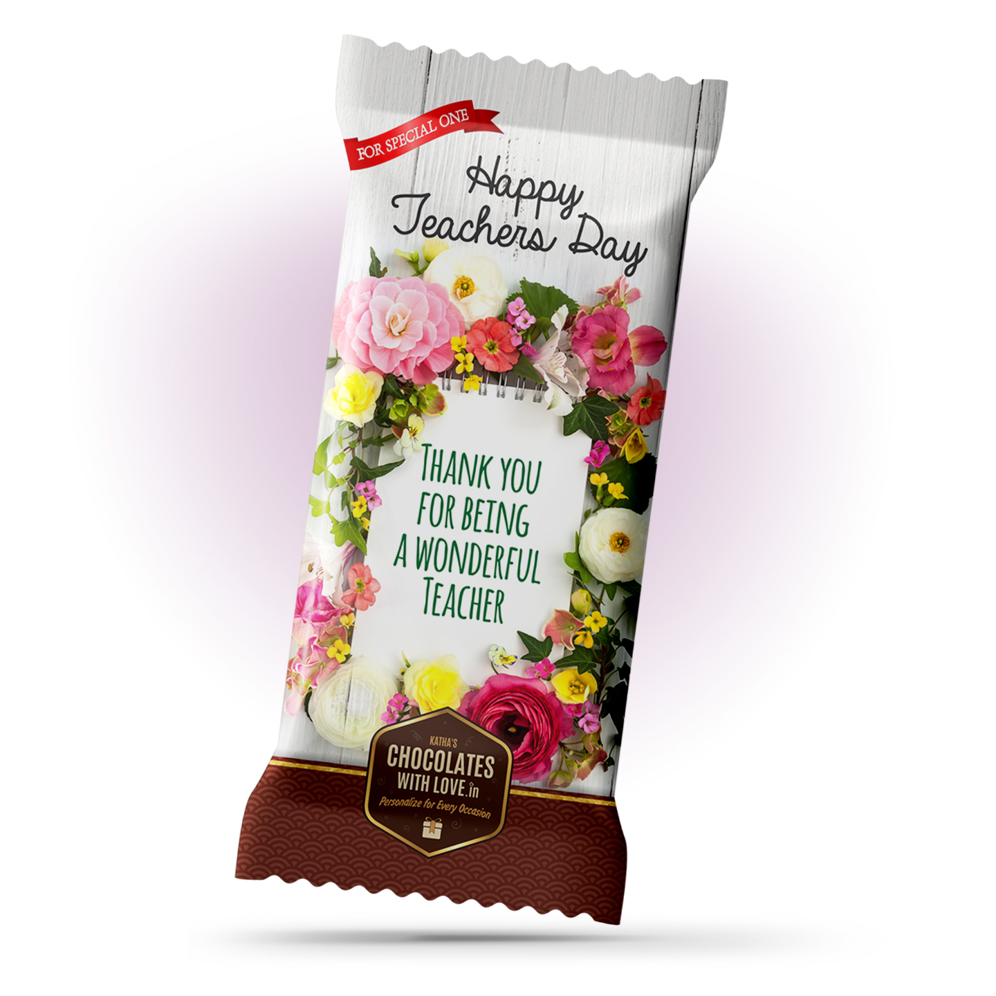 Teachers Day Gift Chocolate Large Bar 100g