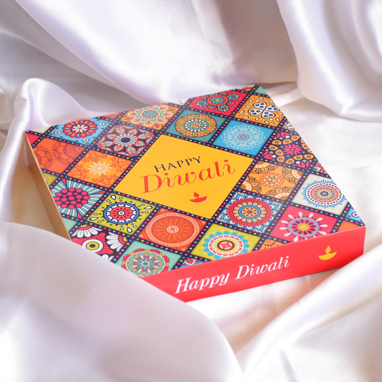 Diwali Phataka Personalized Gift Box, Assorted Chocolates - 10 boxes