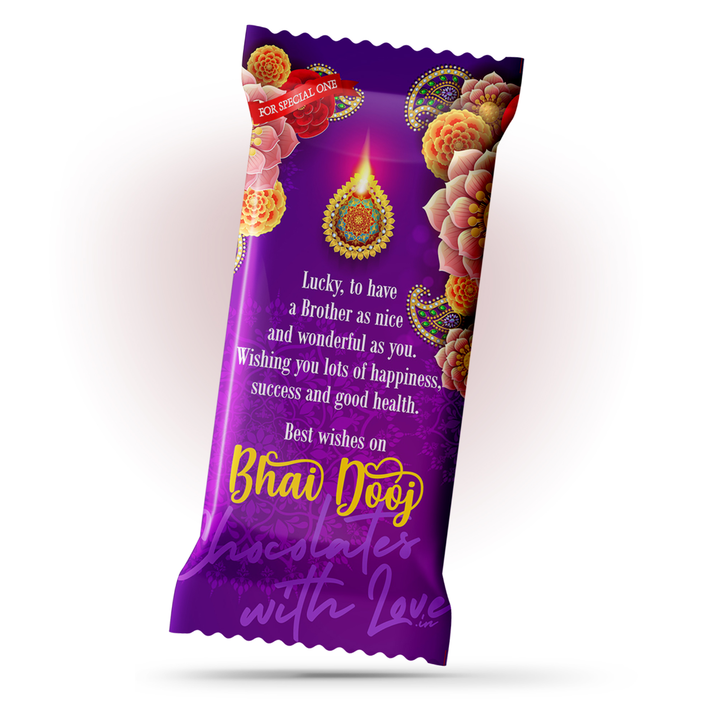 Bhai Dooj Chocolate Large Bar (100g)