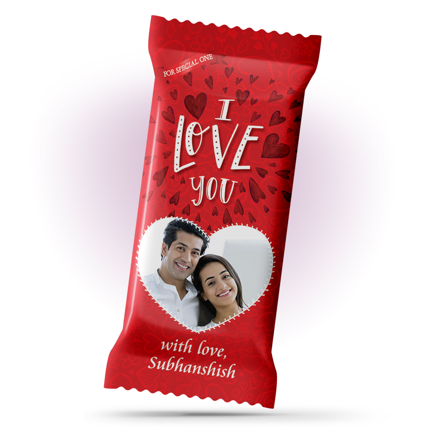 I Love You and Propose Day Gift, Personalize Chocolate Large Bar 100g