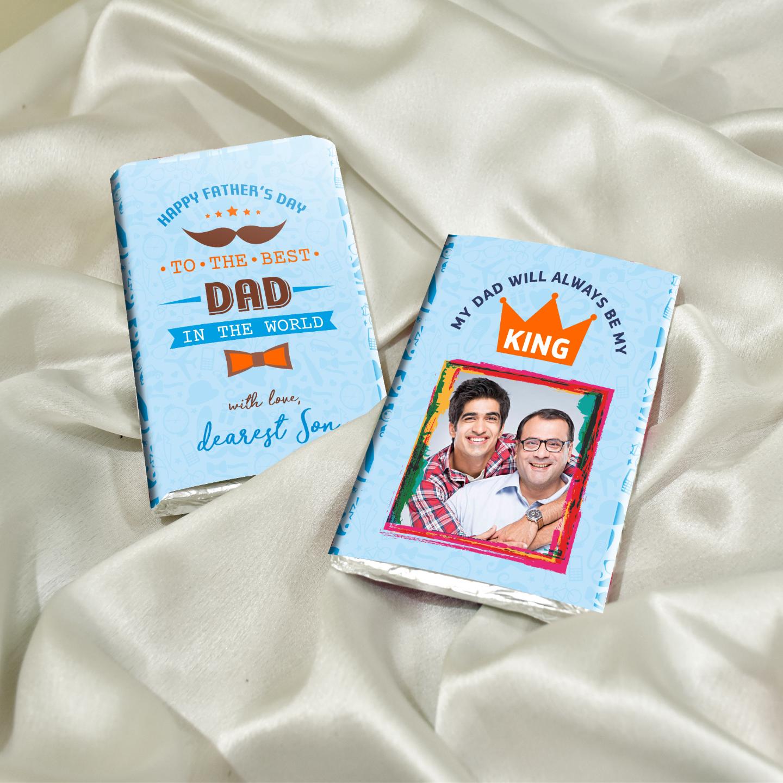 Fathers Day Gift, Personalized Chocolate Box