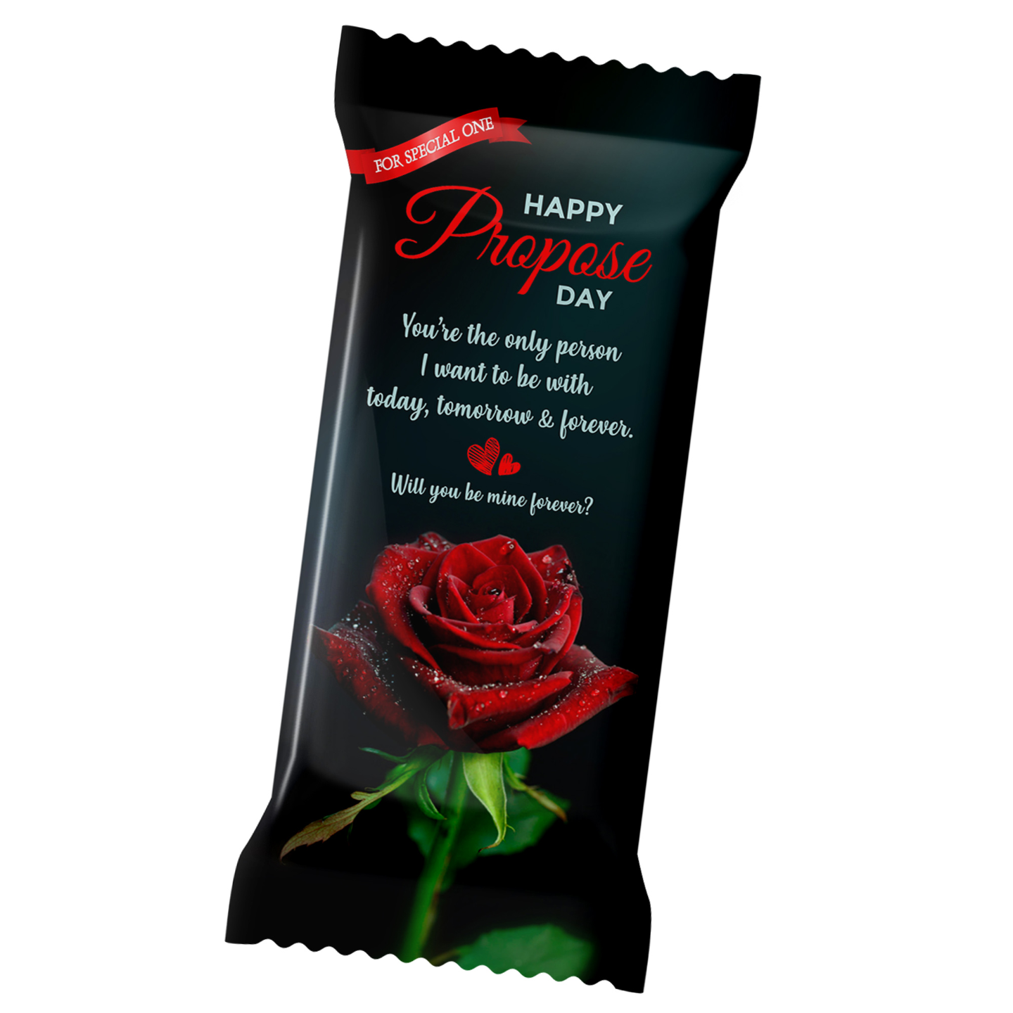 Propose Day Personalized Chocolate Bar 100g