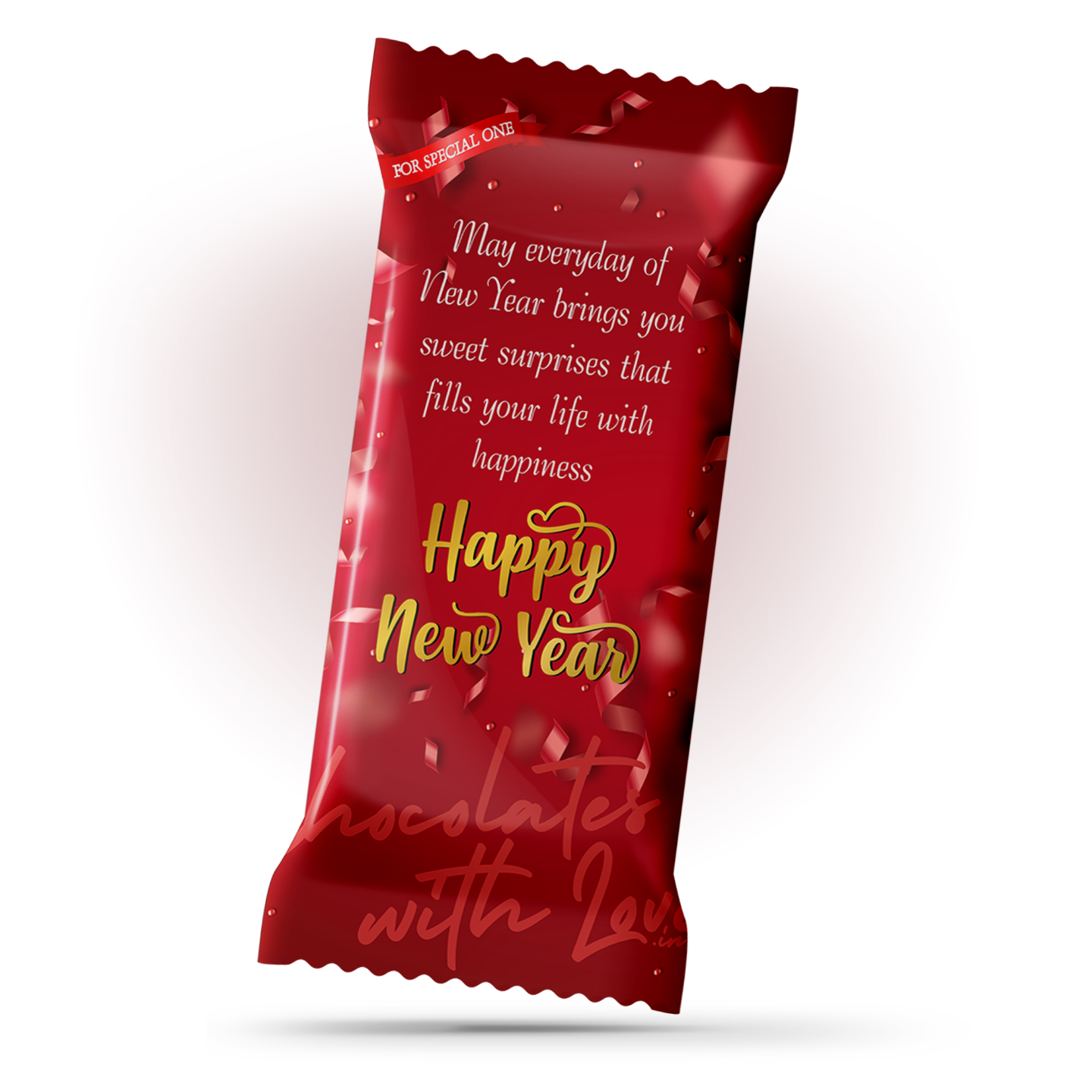 Happy New Year Chocolate Large Bar (100g)