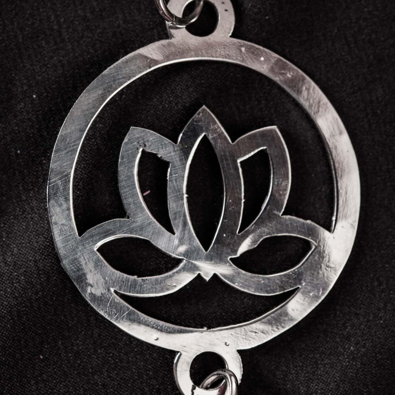 Key Ring - Lotus Flower