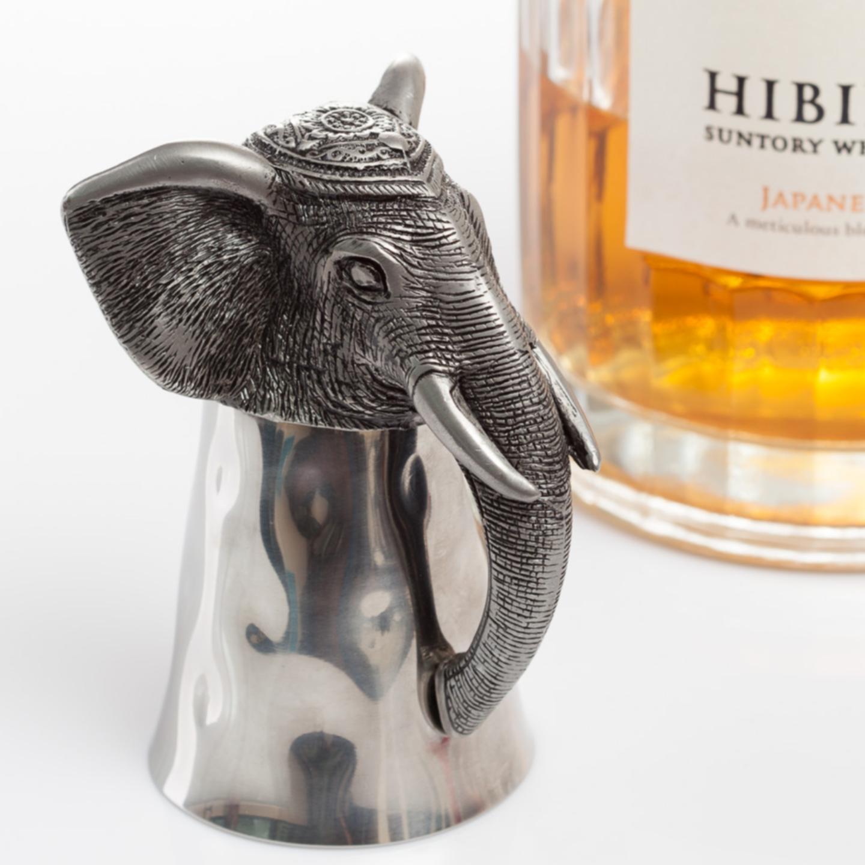 Animal Head Shot Cup - Elephant