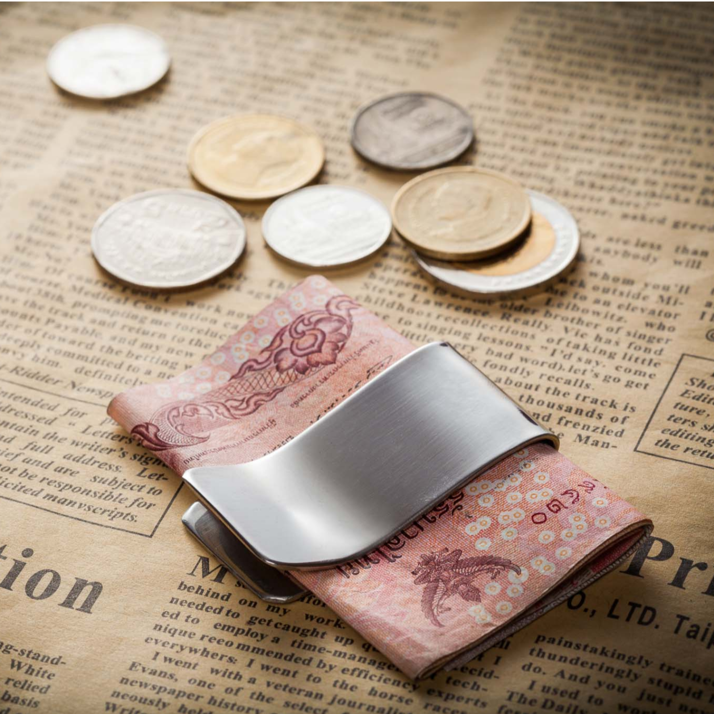 Money Clip - Stainless Steel