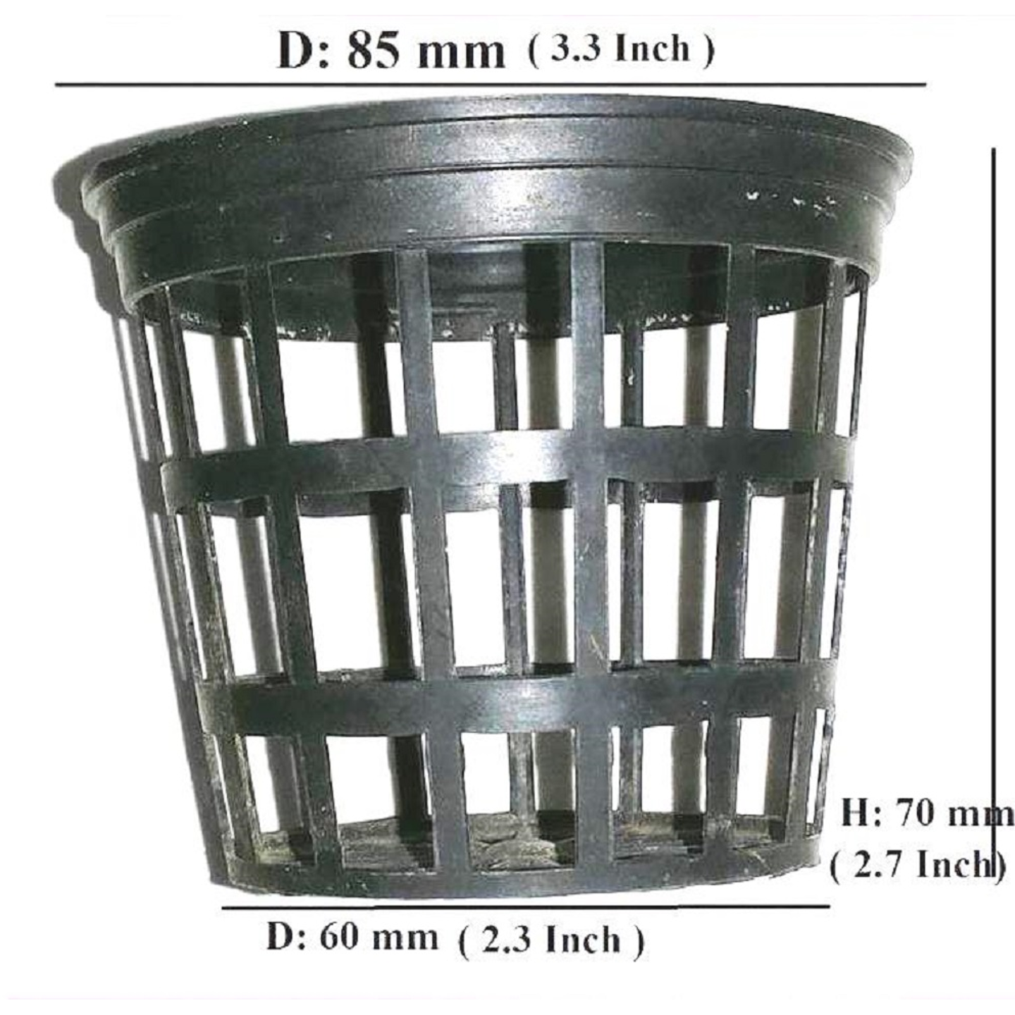 3 INCH NET POT QTY150