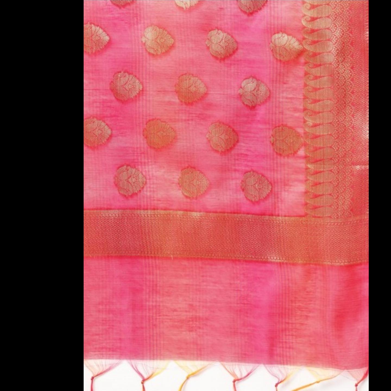 Dual-Tone Banarasi Dupatta