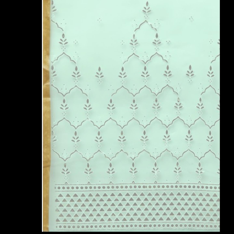 Mint Embellished Dupatta